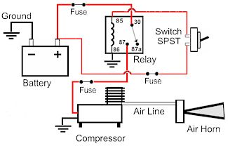 air compressor 12 volt solenoid wiring diagram wiring diagram todays12 volt  replacement horns and specialty air