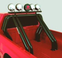 Black Double / Double Roll Bar